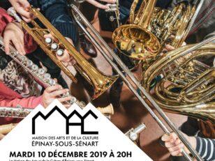 """""""Vents en Fête"""", les élèves du Conservatoire sur la scène de la MAC 11"""