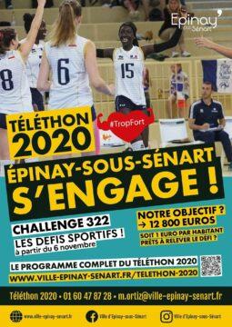Téléthon 2020 : participez aux défis sportifs pour collecter des fonds ! 4