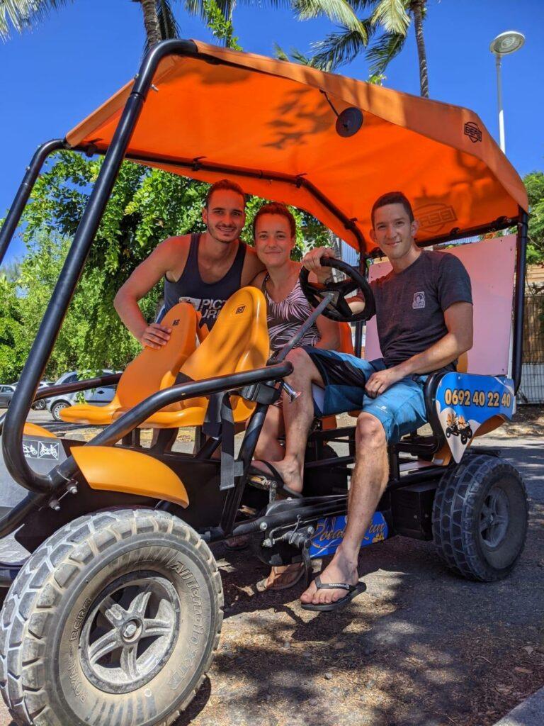 Carnet de voyage : Un pompier d'Epinay-Sous-Sénart fait le tour de La Réunion en rosalie 3