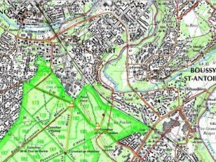 TRAVAUX : réfection des routes forestières sur le massif de sénart 7