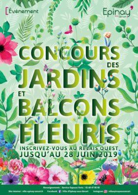 Lancement du Concours des jardins et balcons fleuris 2019 ce dimanche 19 mai lors de Spin'Nature 1