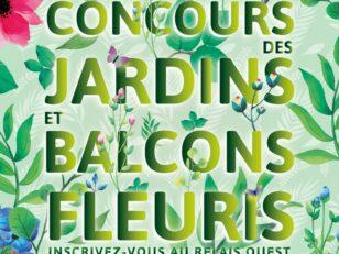 Lancement du Concours des jardins et balcons fleuris 2019 ce dimanche 19 mai lors de Spin'Nature 18