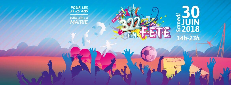 «322 en Fête», samedi 30 juin 2018