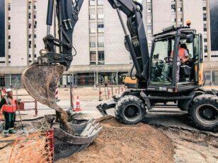 Coeur de Ville : Aménagement des espaces publics de l'avenue Victor Hugo 18