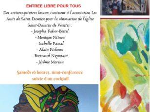 Exposition-vente d'œuvres d'art au profit de la rénovation de l'église 16
