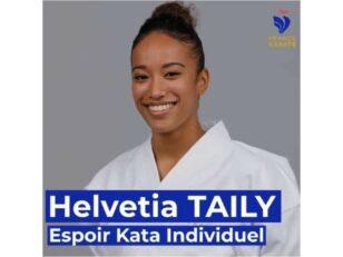 Helvetia TAILY, médaillée de bronze aux Championnats du monde de karaté ! 3