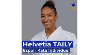 Helvetia TAILY, médaillée de bronze aux Championnats du monde de karaté ! 1