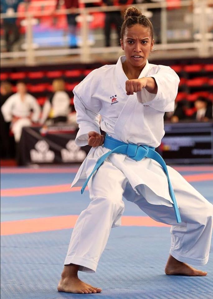 Helvetia TAILY, médaillée de bronze aux Championnats du monde de karaté ! 2