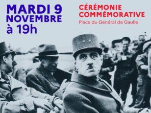 Cérémonie commémorative en hommage au Général de Gaulle 5