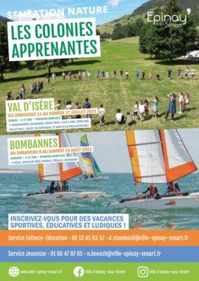 Colonies apprenantes Val d'Isère et Bombannes (6-17 ans) 1