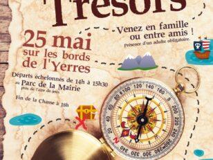 Chasse aux trésors sur les bords de l'Yerres samedi 25 mai à partir de 14h 5