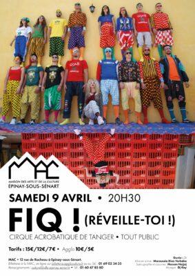 FIQ ! (Réveille-toi) Cirque acrobatique de Tanger 1