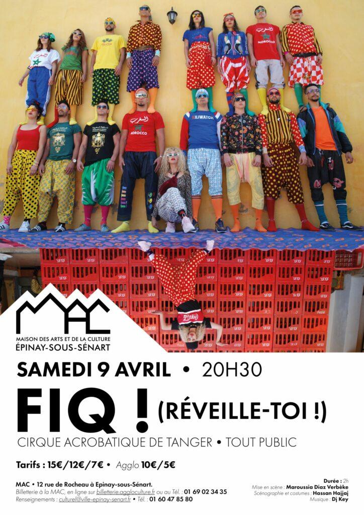 FIQ ! (Réveille-toi) Cirque acrobatique de Tanger 2
