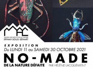 """Festival La Science de l'Art à Épinay - exposition """"No-Made de la nature défaite"""" 2"""