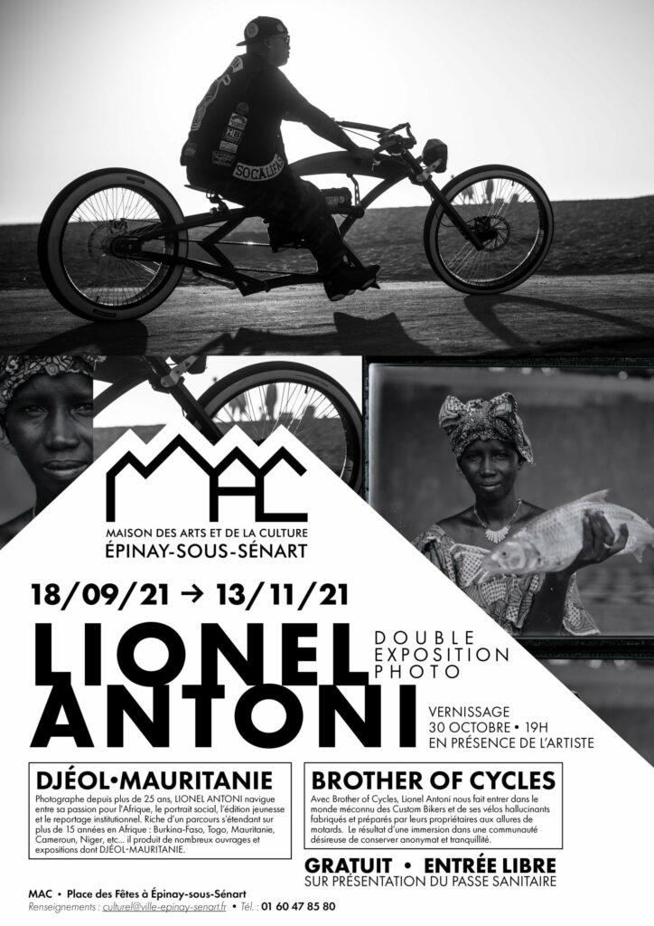 Double exposition photo de Lionel Antoni + Vernissage 2
