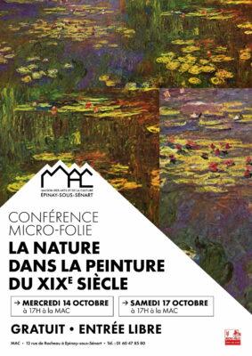 Conférence Micro-Folie : la nature dans la peinture du XIXe siècle 1