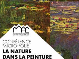 Conférence Micro-Folie : la nature dans la peinture du XIXe siècle ce samedi à 17h 6