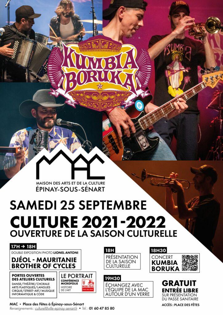 Lancement de la saison culturelle 2021-2022 2