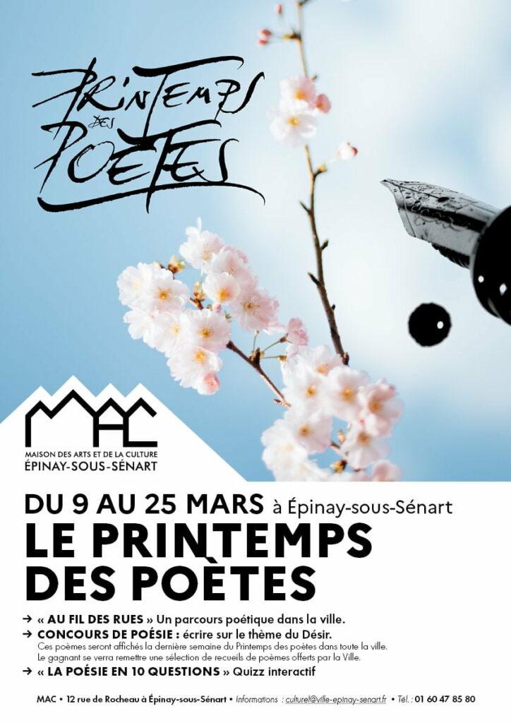 Le printemps des poètes 2