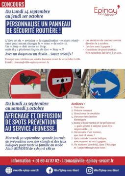 Du 14 au 1er octobre concours prévention routière : revisite le code de la route ! 4
