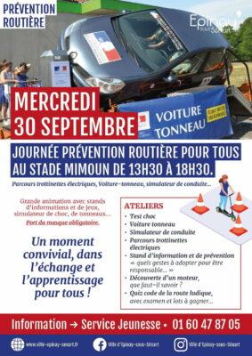 Voiture-tonneau, simulateur de conduite, parcours trottinettes électriques... Journée prévention routière au stade Mimoun 1