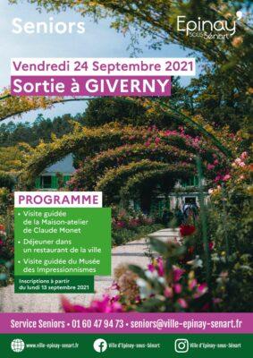 Sortie à Giverny (Seniors) 1