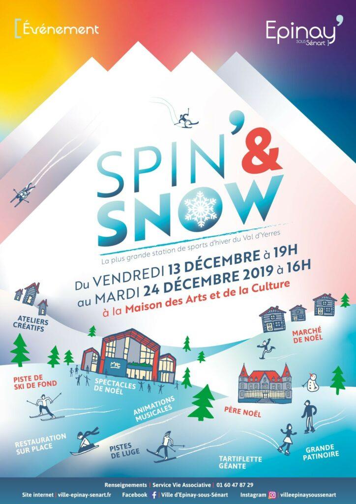 Spin and Snow jusqu'au 24 décembre à la MAC 2