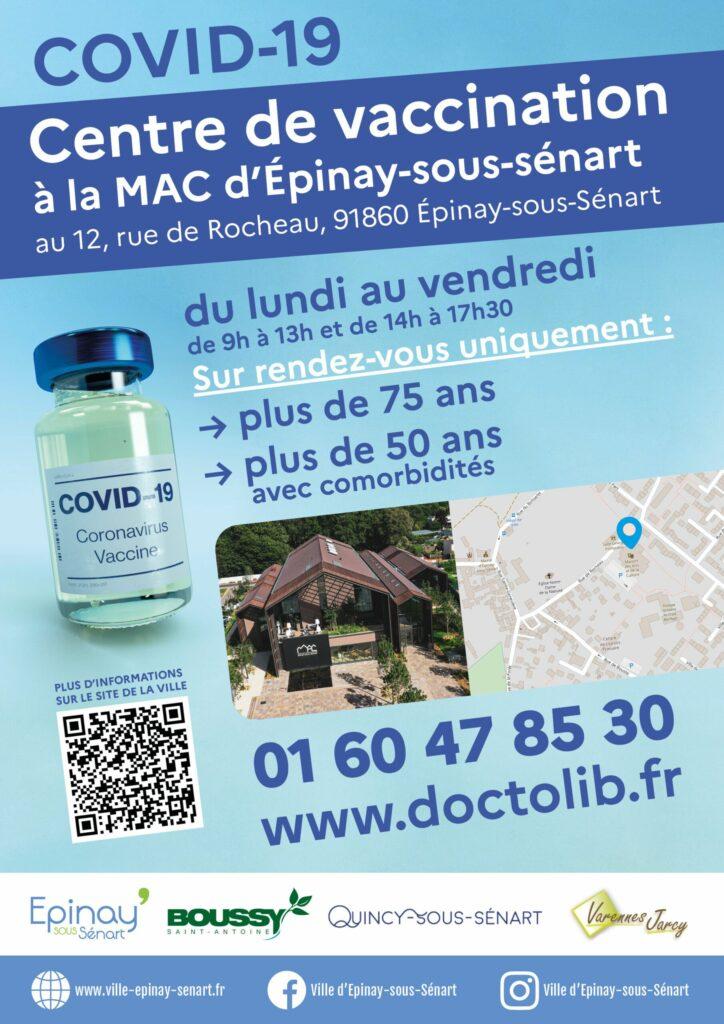 Lancement de la vaccination à Epinay-Sous-Sénart 8
