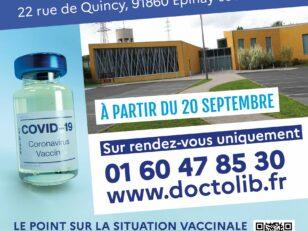 Le centre de vaccination de la MAC déménage le 20 septembre 18