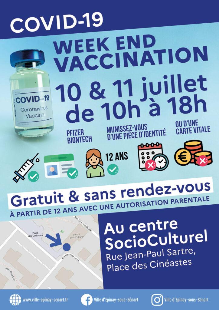 Week-end de vaccination au CSC les 10 et 11 juillet 3