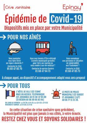 Crise sanitaire du Covid-19 : Lettre de votre Maire, Georges PUJALS 1