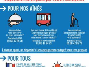 Crise sanitaire du Covid-19 : Lettre de votre Maire, Georges PUJALS 2