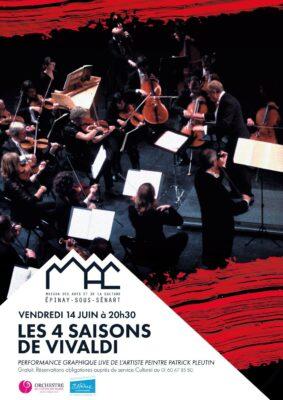 """Les """"Quatre Saisons de Vivaldi"""" ce soir à la MAC 1"""