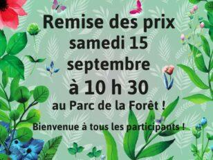 Remise des prix du Concours Jardins et Balcons fleuris demain samedi ! 19