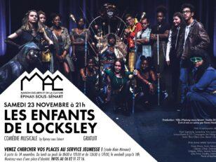 """Comédie musicale """"Les enfants de Locksley"""" le 23 novembre à la MAC 16"""