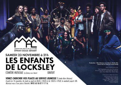 """Comédie musicale """"Les enfants de Locksley"""" le 23 novembre à la MAC 1"""