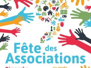 Dimanche 8 septembre, 10h à 18h, rendez-vous à la Fête des associations au stade A. Mimoun 3