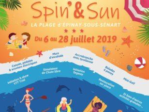 Spin and Sun 2019, la Plage d'Epinay vous accueille jusqu'au 28 juillet 13