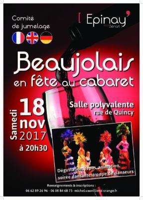 Soirée dansante du Comité de Jumelage pour l'arrivée du Beaujolais 1