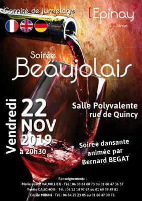 Soirée Beaujolais avec le Comité de Jumelage 1