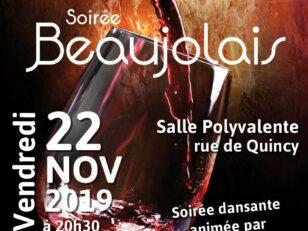 Fêtez l'arrivée du Beaujolais avec le Comité de Jumelage ! 1