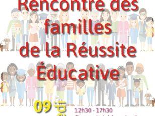 Rencontre des familles de la Réussite Educative 11