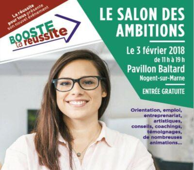 Le Salon des ambitions le 3 février à Nogent-sur-Marne 1