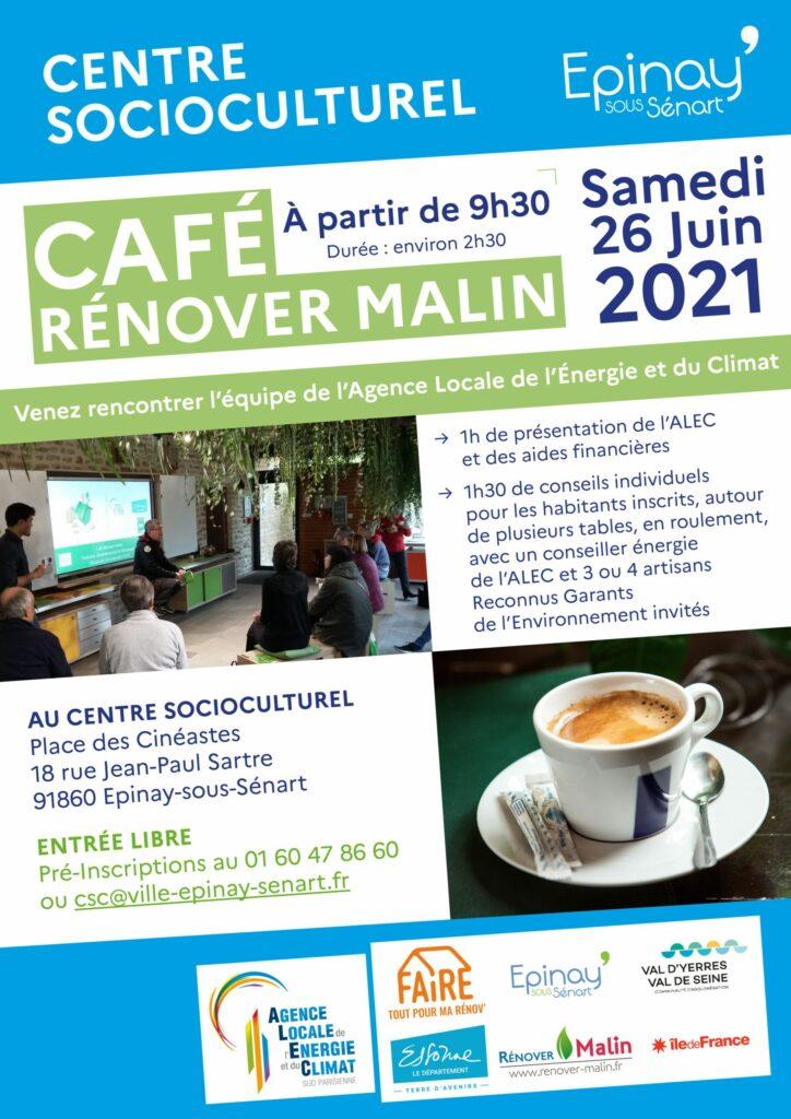 Café Rénover Malin avec l'Agence Locale de l'Énergie et du Climat 2