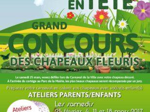 Jardin en tête - concours des chapeaux fleuris 2