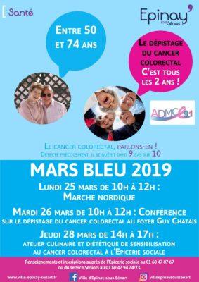 Mars Bleu : Dépistage du cancer colorectal 1