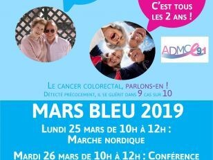 Mars Bleu : Dépistage du cancer colorectal 15