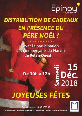 Distribution de cadeaux en présence du Père Noël ! 1