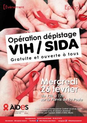 Opération dépistage VIH/SIDA 1