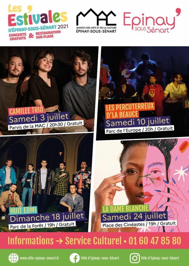 Programme des Estivales - Concerts gratuits pour tous 3